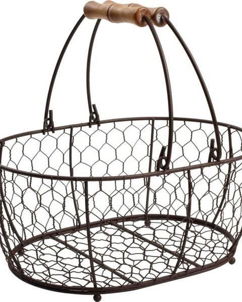 T&G Woodware Kovový košík T&G Woodware Provence,29x21cm
