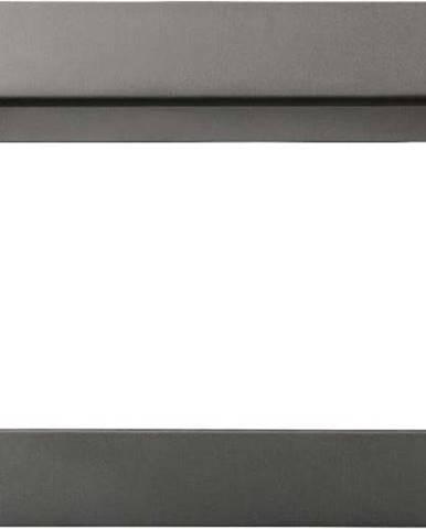 Antracitově šedý nástěnný věšák na ručníky Wenko Montella, 27x16cm