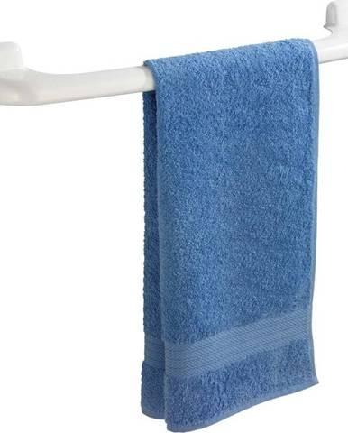 Bílý nástěnný držák na ručníky Wenko Pure