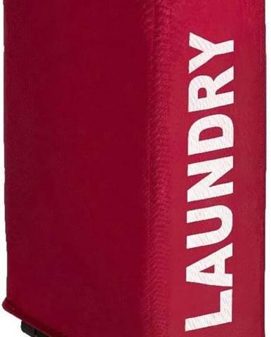 Červený koš na prádlo Wenko Corno, 44,4 l
