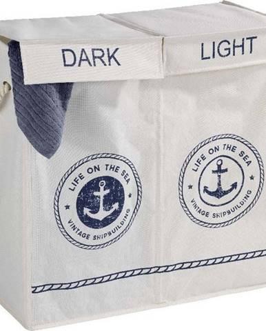 Koš na prádlo se 2 přihrádkami Wenko Sea Duo, 108 l