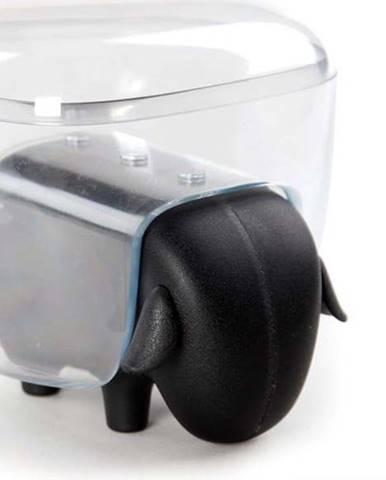 Transparentní víceúčelová dóza ve tvaru ovečky Qualy&CO Sheepshape Container