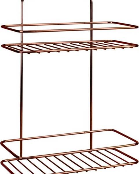 Metaltex Koupelnová polička se dvěmi patry Metaltex Copper