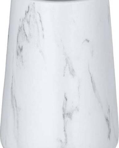 Bílý keramický kelímek na kartáčky Wenko Adrada