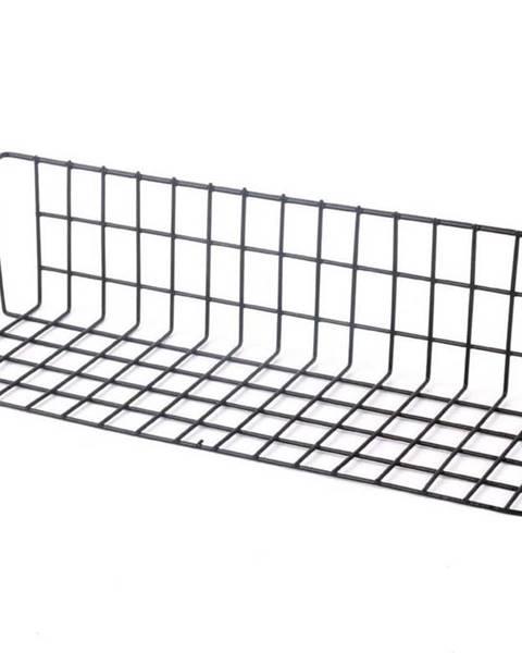 Bonami Černý přídavný košík k nástěnce Reminder, délka 38 cm
