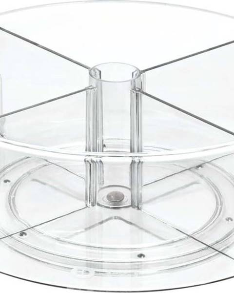 iDesign/The Home Edit Kulatý transparentní úložný box iDesignTheHomeEdit, ⌀31cm