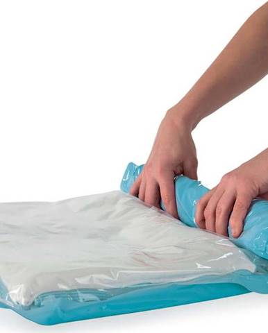 Sada 6 srolovatelných vakuových úložných obalů na oblečení Compactor Roll Up Vacuum Bags, 70 x 50 cm