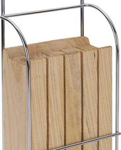 Závěsný dřevěný držák na nože Metaltex