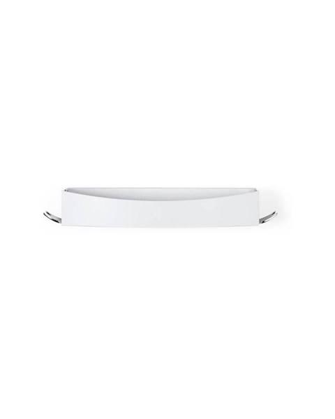 Compactor Bílá nástěnná samodržící polička Compactor Clever Flip Shower Shelf