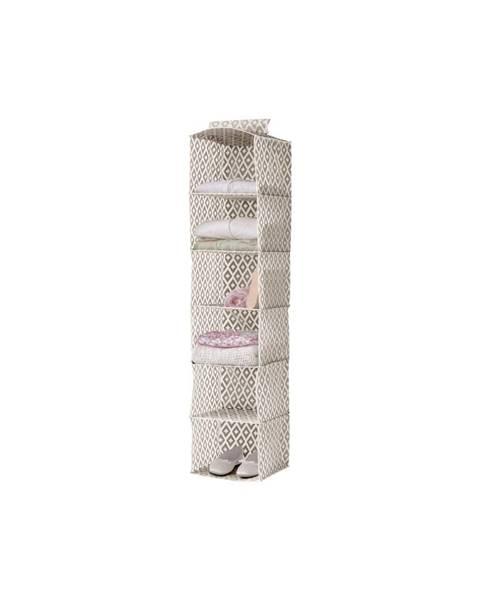 Compactor Závěsný organizér na oblečení Compactor Daman Range Cloth Rack, výška 128 cm