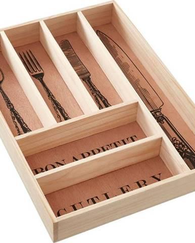Úložný box na příbory z borovicového dřeva Premier Housewares Vintage