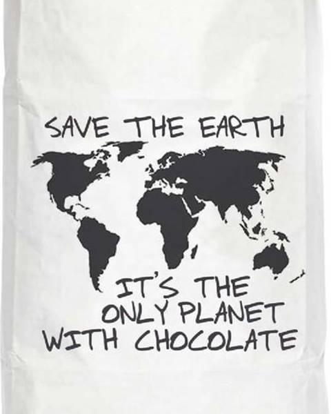 Really Nice Things Úložný pytel z recyklovaného papíru Really Nice Things Chocolate