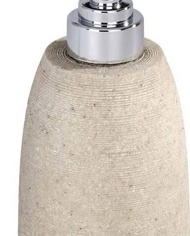 Béžový dávkovač na mýdlo Wenko Goa