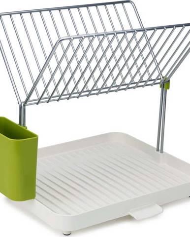 Zeleno-bílý odkapávač na nádobí Joseph Joseph Y-Rack