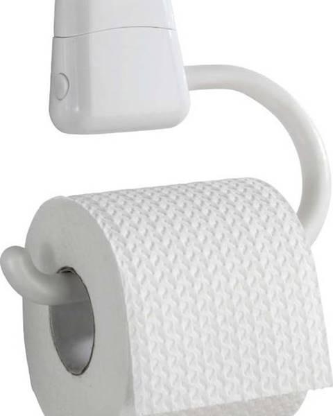 WENKO Bílý držák na toaletní papír Wenko Pured