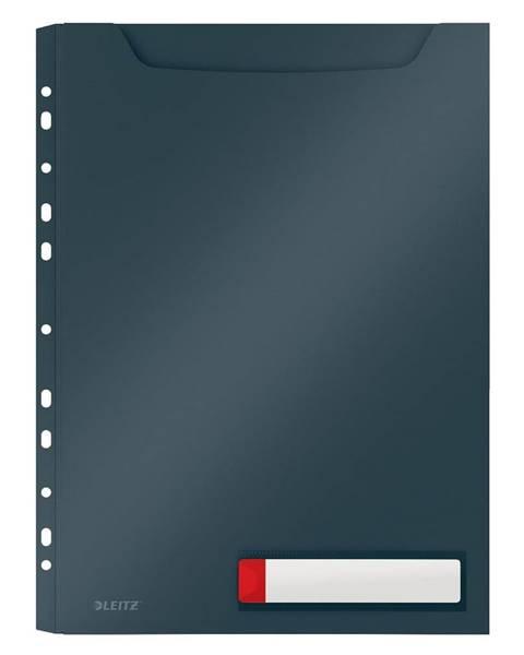 Leitz Šedé velkokapacitní kancelářské desky Leitz Cosy, A4