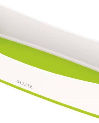 Bílo-zelený stolní organizér Leitz MyBox, délka 31 cm