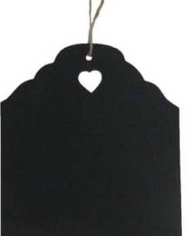 Černá křídová cedule Antic Line Blackboard, 20 x 31 cm