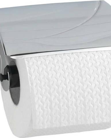 Nástěnný držák s krytem na toaletní papír Wenko Basic