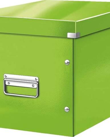 Zelená úložná krabice Leitz Office, délka 36 cm