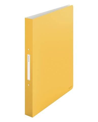 Žlutý kroužkový pořadač Leitz Cosy