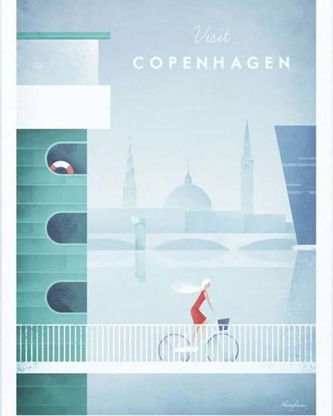 Travelposter Plakát Travelposter Copenhagen, A2