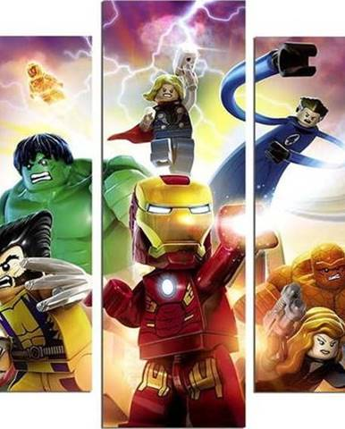 5dílný obraz Marvel