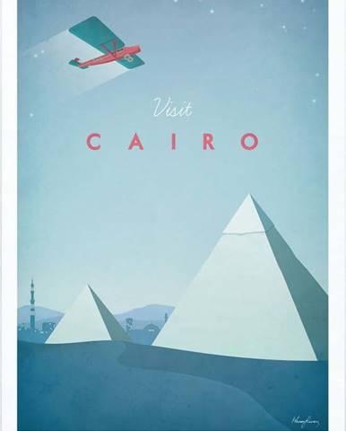 Plakát Travelposter Cairo, A2