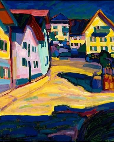 Reprodukce obrazu Vasilij Kandinskij - Castle Grave Street, 80x60cm