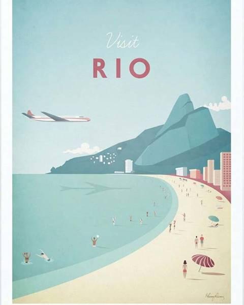 Travelposter Plakát Travelposter Rio, A2