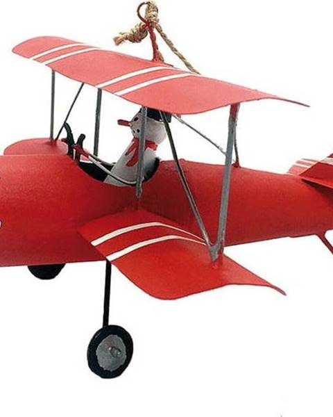 G-Bork Vánoční závěsná ozdoba G-Bork Snowman in Airplane