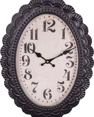 Oválné hodiny Antic Line Ovale