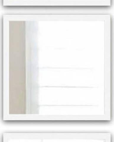 Sada 3 nástěnných zrcadel s bílým rámem Oyo Concept Setayna,24x24cm