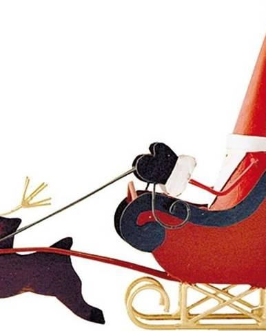Vánoční dekorace G-Bork Santa on Sledge
