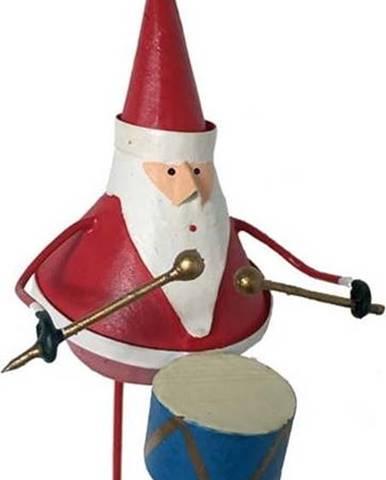 Vánoční závěsná ozdoba G-Bork Santa with Drum