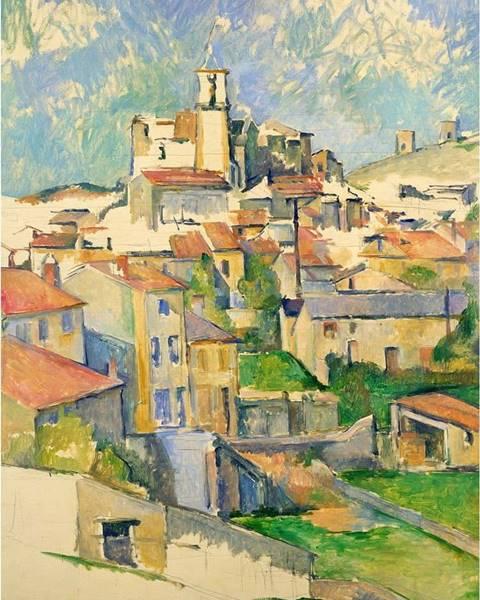 Fedkolor Reprodukce obrazu Paul Cézanne - Gardanne, 60x80cm