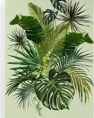 Obraz na plátně Really Nice Things Tropical, 50 x 70 cm