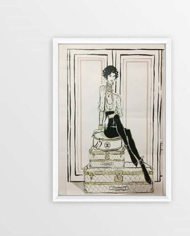 Obraz Piacenza Art Chanel Suitcases,30x20cm