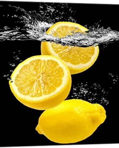 Obraz Styler Glasspik Yellow Fruits, 20 x 20 cm