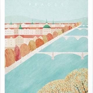 Plakát Travelposter Prague, A3