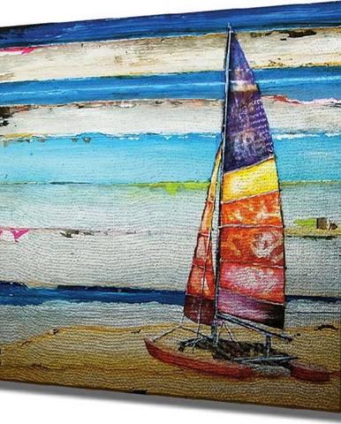 Nástěnný obraz na plátně Boat, 45 x 45 cm