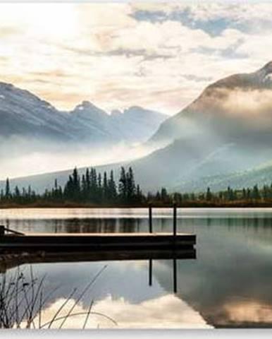 Obraz na plátně Styler Lake, 150 x 60 cm