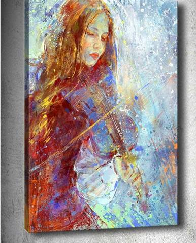 Obraz Tablo Center Winter Music, 40x60cm