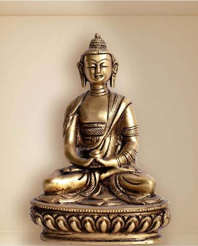 Samolepka s 3D efektem Ambiance Buddha Statue