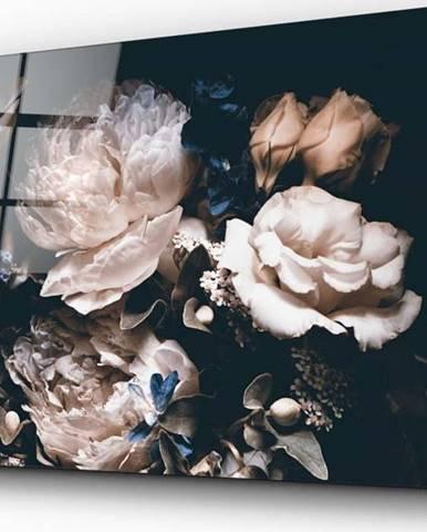 Skleněný obraz Insigne Bouquet,72 x46cm