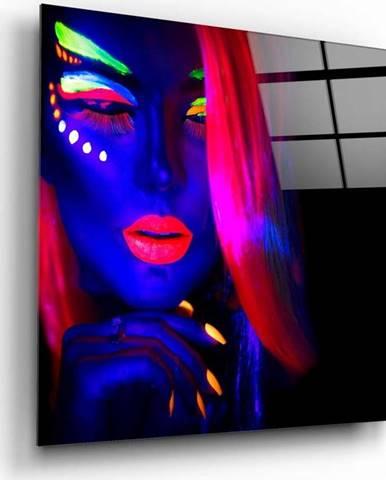 Skleněný obraz Insigne Woman Portrait,80 x80cm