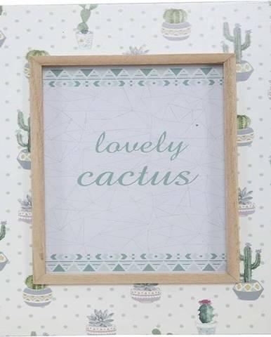 Stolní fotorámeček Mauro Ferretti Cactus,pro fotografii 12,8x17,8cm