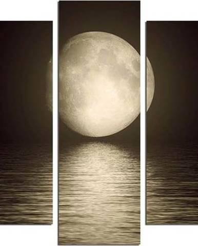 Vícedílný nástěnný obraz Moon Over The River