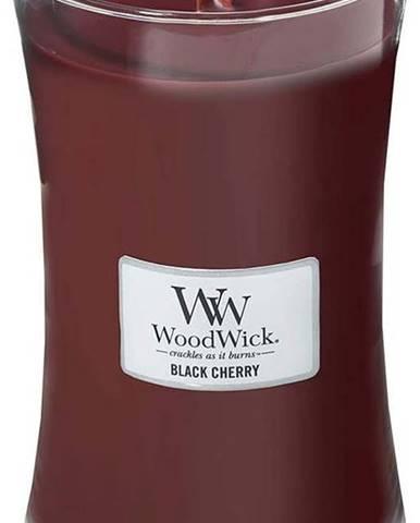 Vonná svíčka WoodWick Černá třešeň, 110hodin hoření