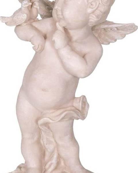 Antic Line Dekorativní socha z polyresinu ve tvaru anděla Antic Line Ange,výška22cm